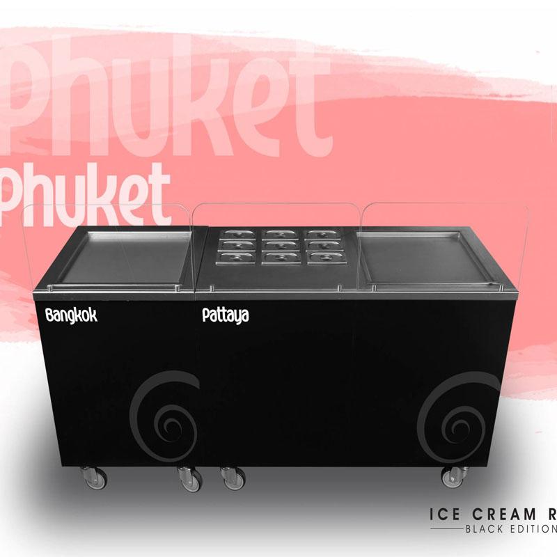 Ice cream roll phuket