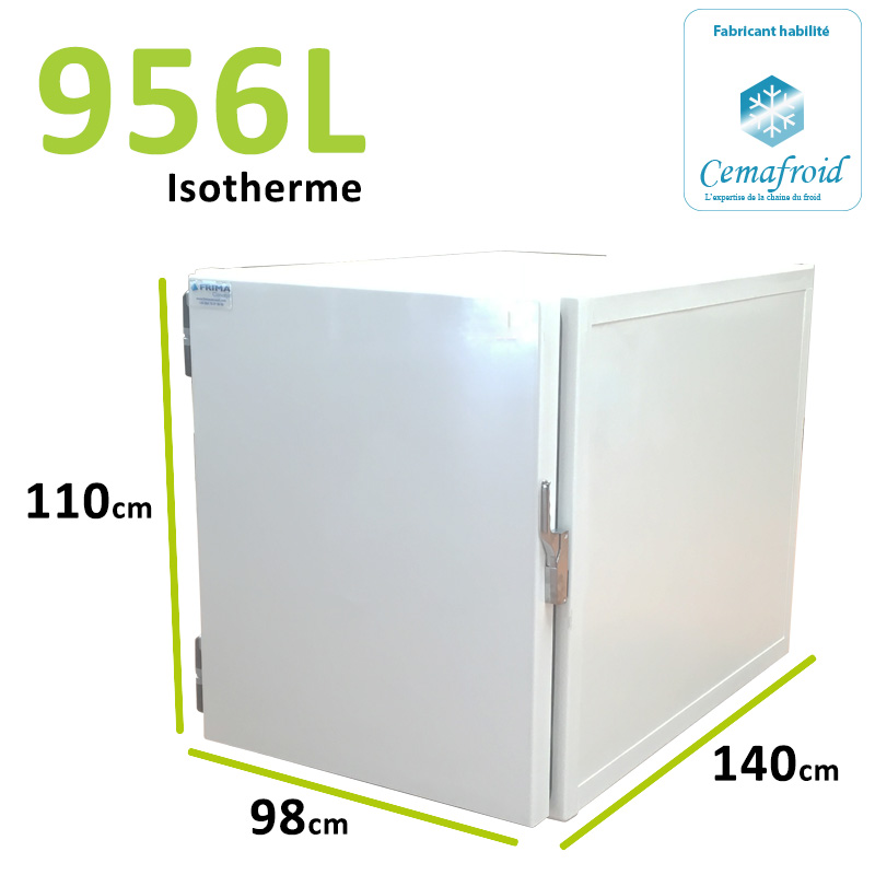 Caisson Isotherme 956L...