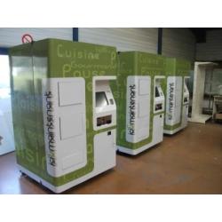 Distributeurs automatiques réfrigérés
