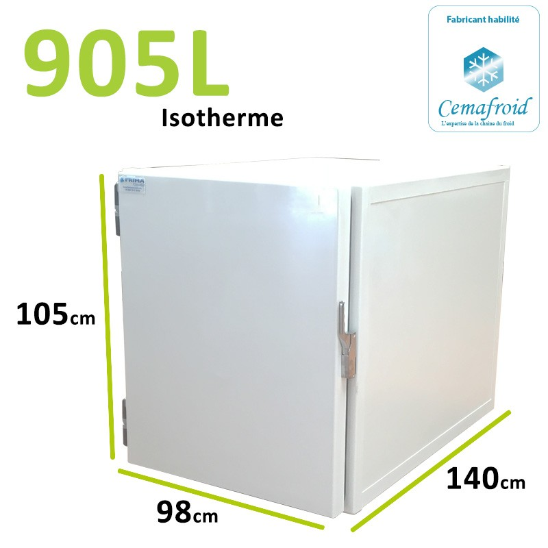 Caisson Isotherme 905L...
