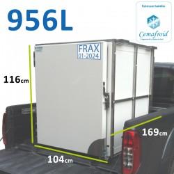 Caissons frigorifique pick up 956 L