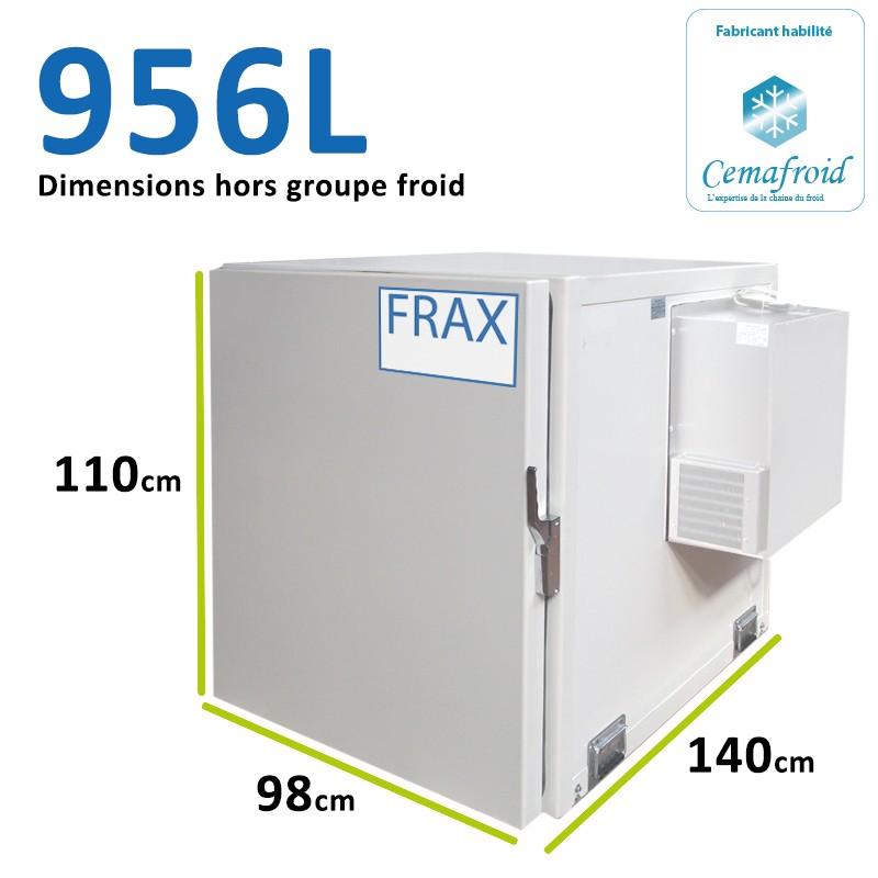 Caisson Frigorifique 956L...