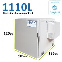 Caisson Frigorifique 1110L Amovible
