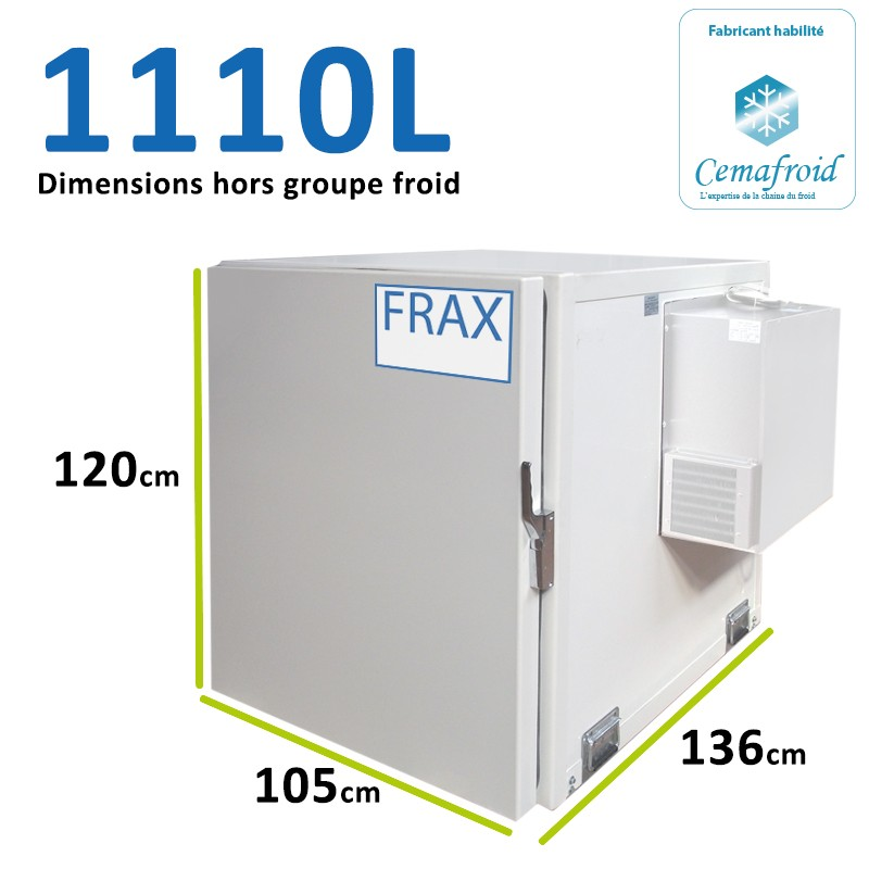 Caisson Frigorifique 1110L...