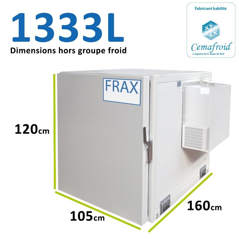 Caisson Frigorifique 1333L...