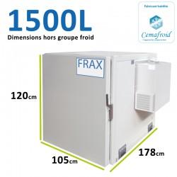 Caisson Frigorifique 1500L Amovible