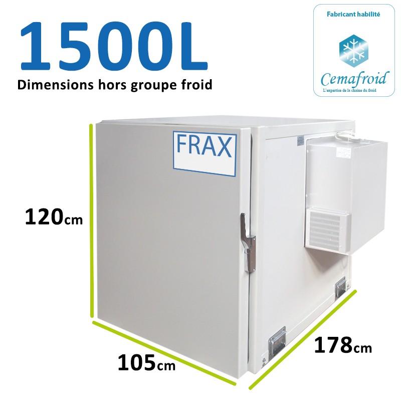 Caisson Frigorifique 1500L...