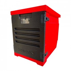 Caisse isotherme chargement frontal 60 / 40 128L
