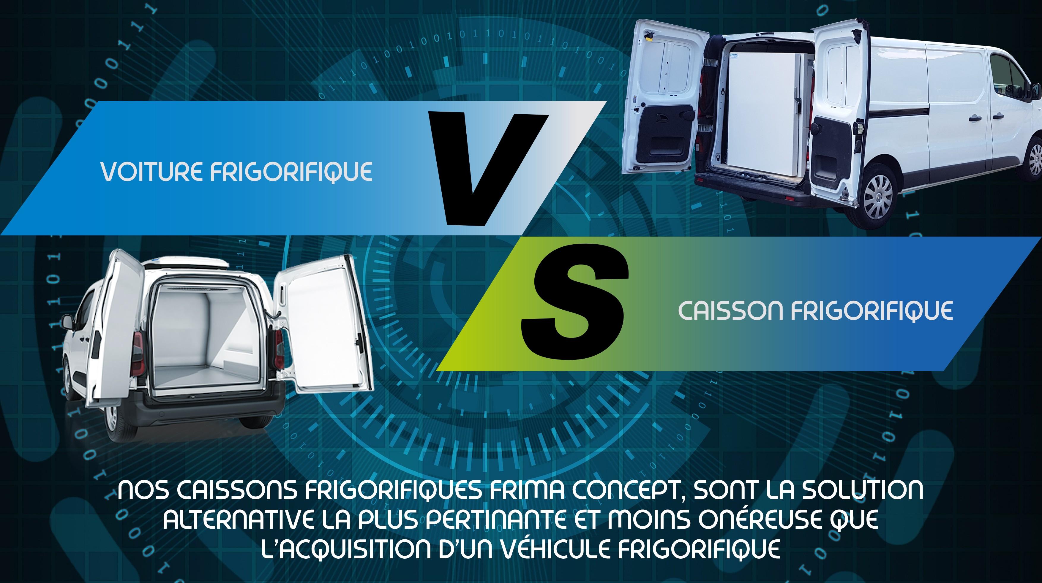 découvrez pourquoi la solution d'un caisson frigorifique est intéressante  FRIMA Concept